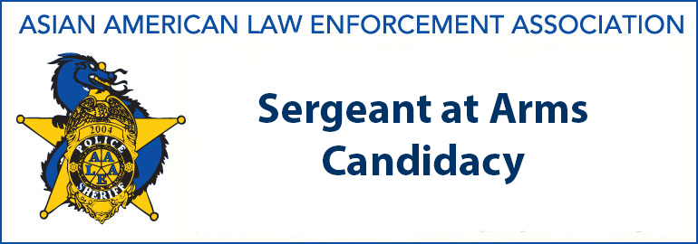Sergeant at Arms Candidacy